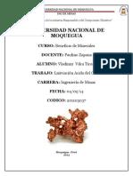 LIXIVIACION ACIDA DEL COBRE (VLADIMIR VILCA ).doc