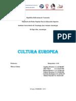 Cultura Europea