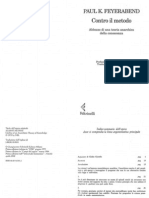 Contro Il Metodo - Paul K. Feyerabend