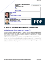 FSMO_domaineMaster