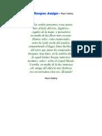 El Bosque Amigo - Paul Valéry