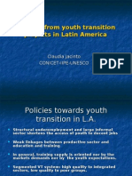 Learning From Youth Transition Projects in Latin America