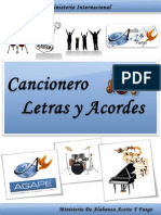 Cancionero - Letras y Acordes - Alabanza Y Adoracion - Julio 2011
