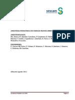 Anestesia Pediatrica en Cma