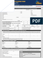 CPS Credit Application