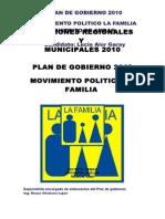 Plan de Gobierno Ambar
