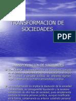 Diapositiva de Transformacion de Sociedades