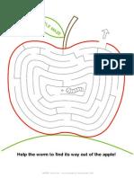 Mrprintables Apple Maze