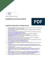 Legislație protectia muncii