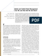 Perioperative Fluid Management