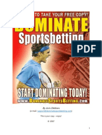 Dominate Sports Betting