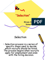 selection ppt