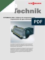 Calderas de Recuperación (Viessmannn Vitomax)