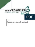 Tweaco - Cotización de sitio web con diseño gráfico personalizado - Plan A2