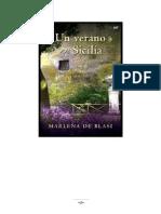 Un Verano en Sicilia - Marlena de Blasi