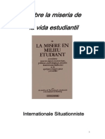 InternationaleSituationniste-Sobre La Miseria de La Vida Estudiantil