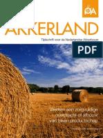 Akkerland 2013