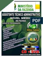 01- Módulo de Língua Portuguesa - Ministério da Fazenda - Assistente Téc. Adm.