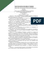 Código de Instrucción Médico Forense