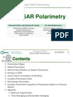 Basic SAR Polarimetry