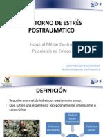 TRASTORNO DE ESTRÉS POSTRAUMATICO