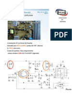 Boletim informativo de Bancada 3 TV Philips 42PFL3604 Não liga.