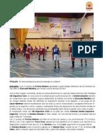 El Almería Basket acaricia el liderato en solitario - Eurovent Montilla 52 - 64 Almería Basket