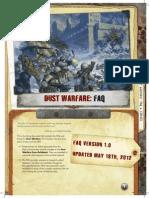 Dust Warfare FAQ High