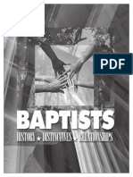 Baptists History, Distinctives, Relationships - 154pp