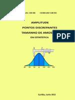 AMPLITUDE PONTOS DISCREPANTES TAMANHO DE AMOSTRA EM ESTATÍSTICA