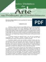 Roteiro didático da Arte na produção do Conhecimento