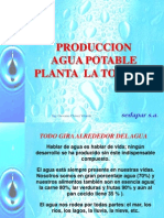 Produccion Agua Potable