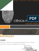 Quimica Forense - Impressoes Digitais