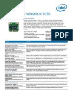Centrino Wireless n 1030 Brief