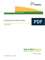 Construction Sector Plan