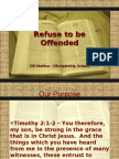 Oil Station Ministries - Refuse to be offended