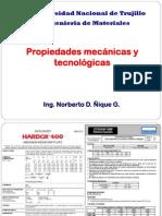 Propiedades Mecanicas y Tecnologicas