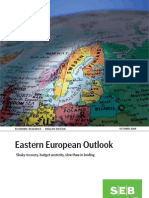 SEB Eastern European Outlook October 2009 (english)