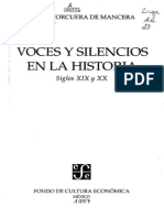 Voces y Silencios en La Historia