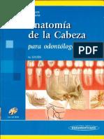 Anatomia de La Cabeza (Cuarta Edicion)