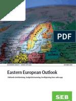 SEB Eastern European Outlook Oktober 2009 (Swedish)