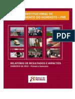 Relatório Fundo Constitucional de Financiamento do Nordeste (FNE)