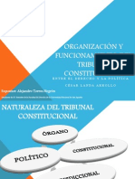 ORGANIZACIÓN Y FUNCIONAMIENTO DEL TRIBUNAL CONSTITUCIONAL C LANDA