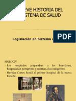Breve Historia Del Sistema de Salud 1