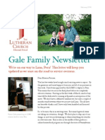 Pastor Gale February Newsletter
