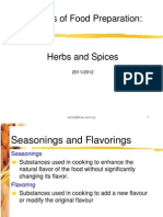 6 Herbs Spices