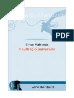 Errico Malatesta - Il Suffragio Universale