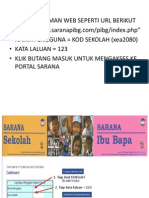 Bagaimana Nak Mengakses Portal Sarana Bagi Pihak Sekolah