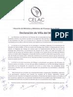 Declaracion Vina Del Mar - CELAC - 14-12-12