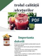 Controlul Calitatii Dulcetii Powerpoint